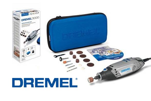 Dremel 3000 mini trapano multifunzione 15 accessori 10 dischi taglio speedclic ebay - Taglio piastrelle dremel ...